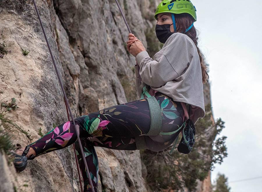 Mantenimiento del material de escalada